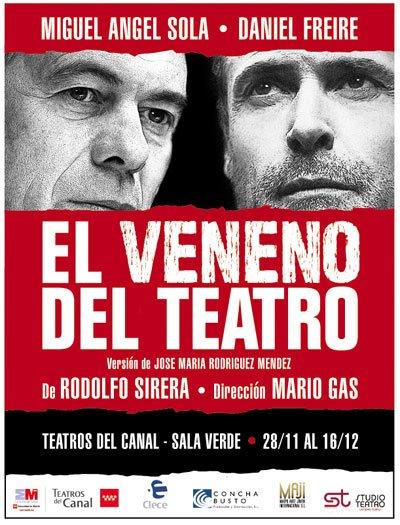 cartel veneno del teatro